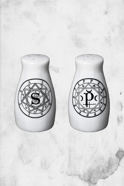 horror spooky salt and pepper shakers halloween