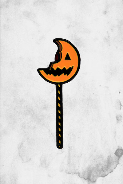 Trick r Treat Movie sam Lollipop Enamel Pin