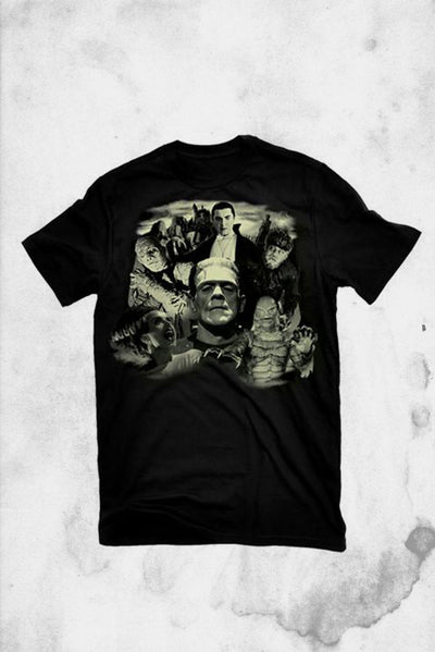 universal monsters t-shirt