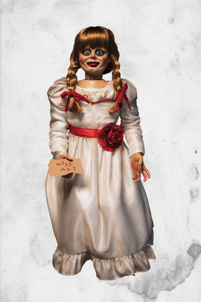 conjuring Annabelle doll real
