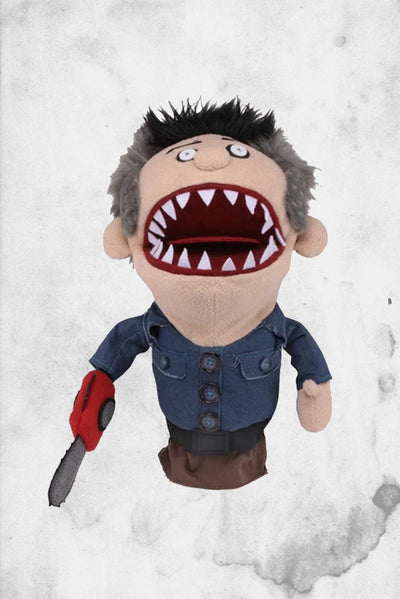 ashly slashy hand puppet neca