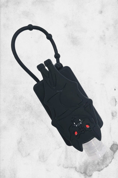black bat hand sanitizer holder