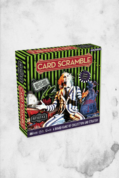 beetlejuice card scramble game