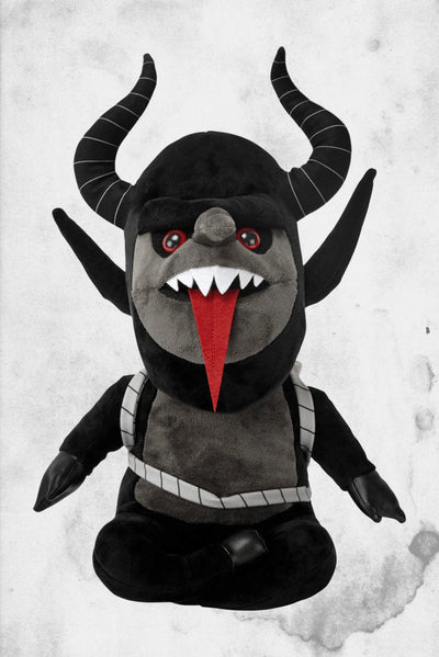 krampus plsuh stuff animal toy killstar
