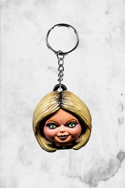 Tiffany chucky seed of chucky keychain trick or treat studios