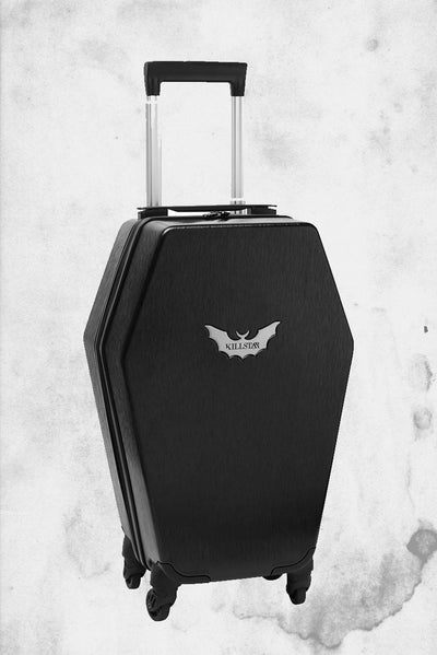 killstar shaped coffin suitcase