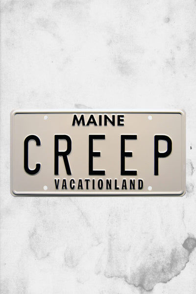 creepshow movie license plate