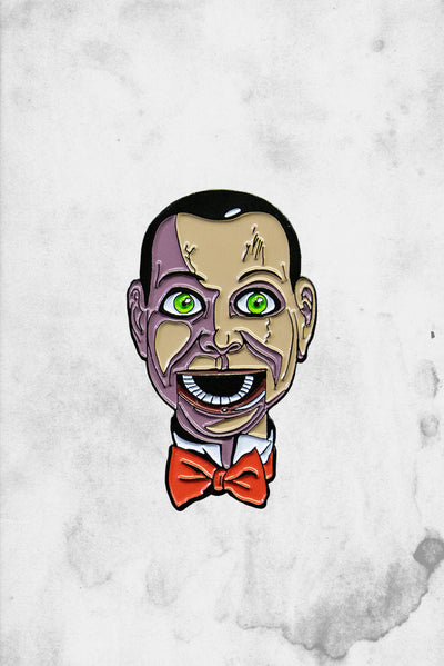 Creepy Puppet Dead Silence Movie Pin