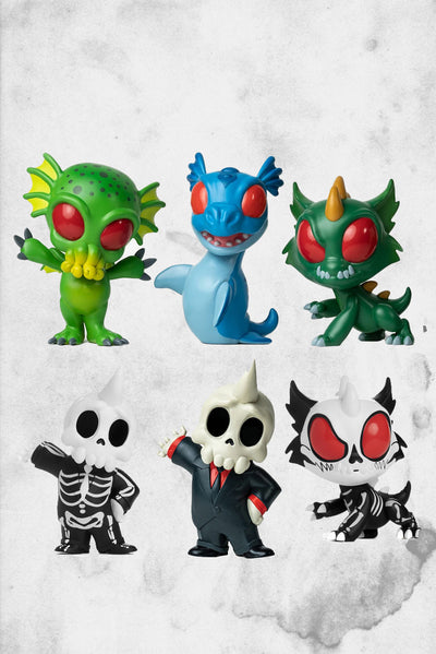 cryptkins unleashed large figures