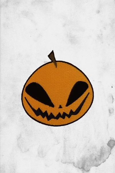 cute halloween pumpkin patch iron on