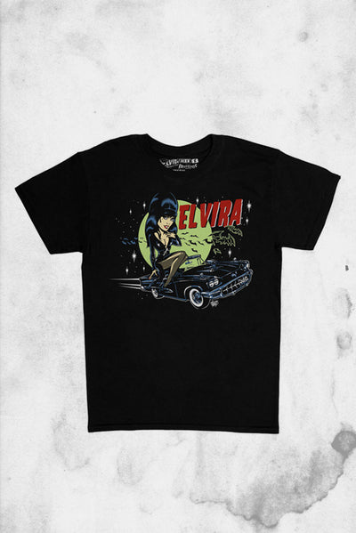 elvira vince ray t-shrit