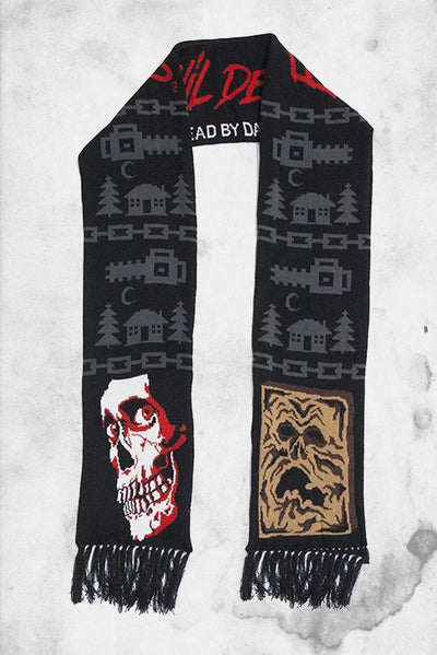 evil dead winter scarf