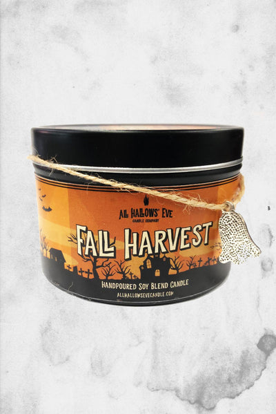 fall harvest scented candle