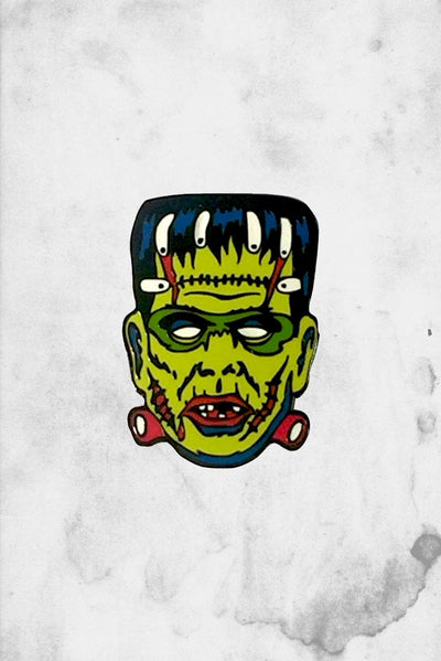 Frankenstein Monster enamel pin