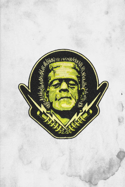 Frankenstein's Monster Iron on Patch Universal Monsters
