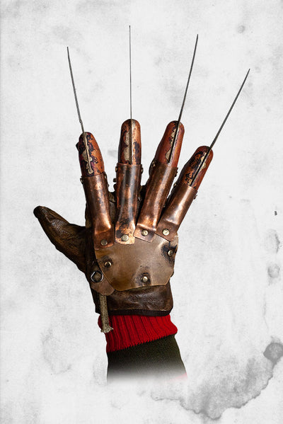 Freddy Krueger glove screen accurate halloween costume