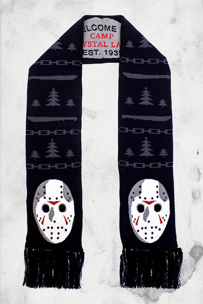 friday the 13th jason scarf