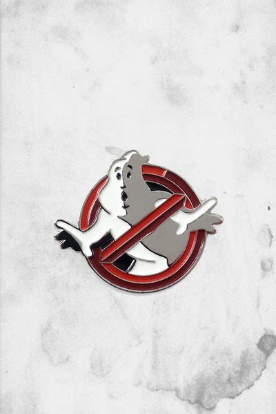 ghostbusters collector logo enamel pin