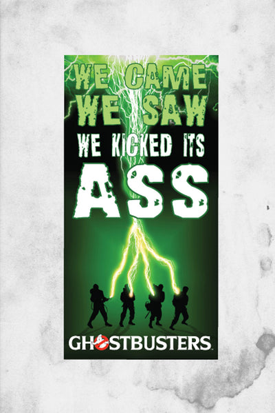 ghostbusters beach towel