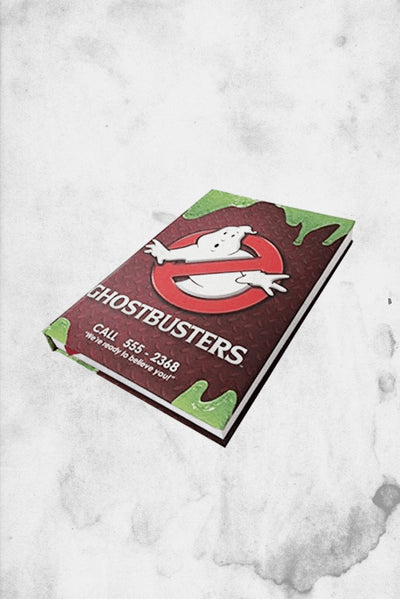 ghostbusters notebook journal