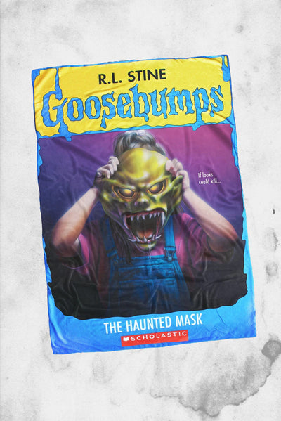 goosebumps haunted mask blanket