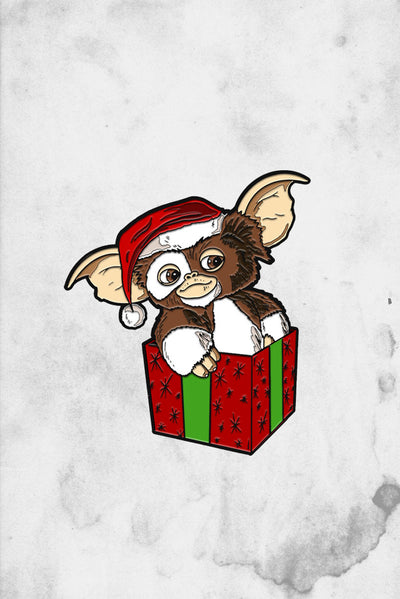 Holiday Christmas Gizmo Enamel Pin