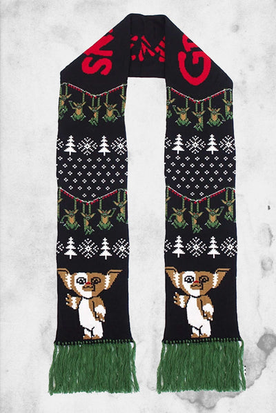 gremlins holiday scarf