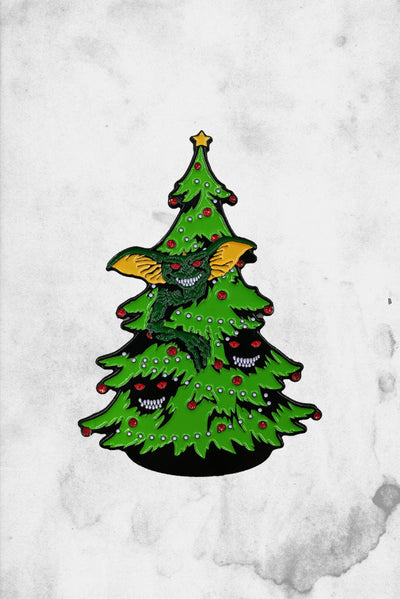 Gremlins Movie Christmas Tree Enamel Pin