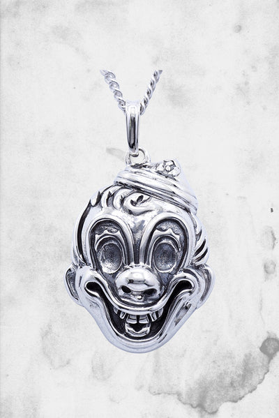 halloween michael myers horror clown pendant and necklace