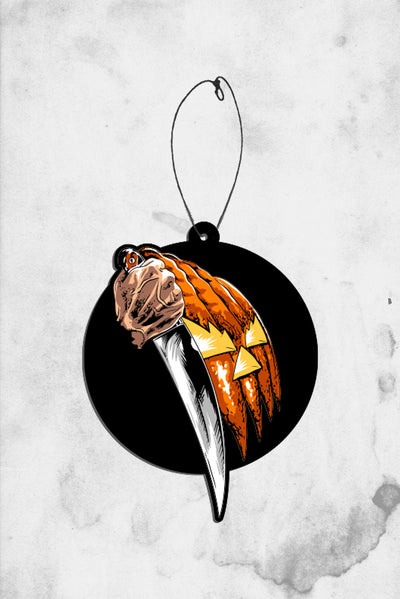 halloween movie poster air freshener