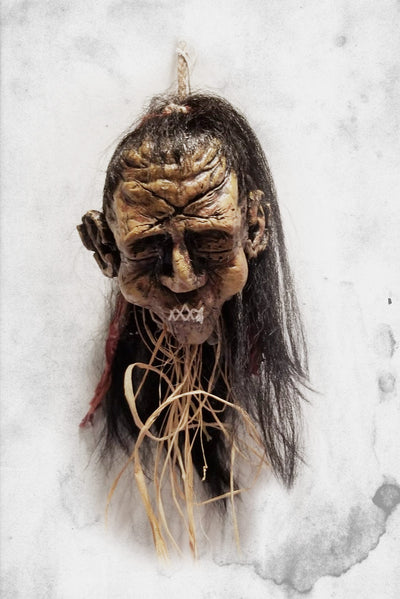 Gore Galore Halloween prop Shrunken Head