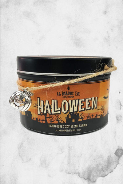 halloween scented fall candle