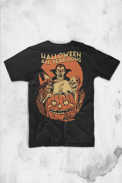 vintage halloween t-shirt design