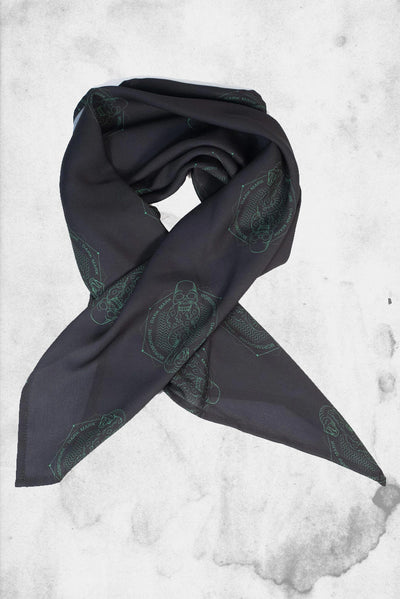 harry potter dark mark scarf