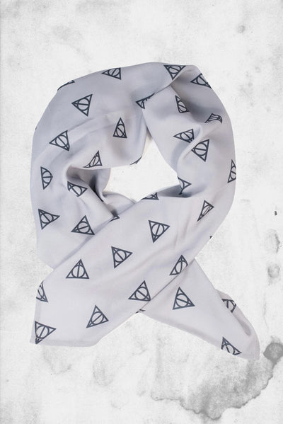 harry potter deathly hallows hair scarf