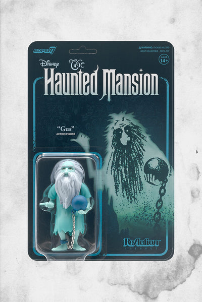 haunted mansion reaction super 7 gus figure