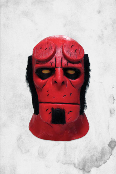 hell boy mask halloween collectible