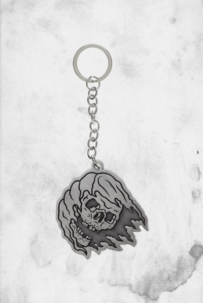 grim reaper keychain metal sourpuss