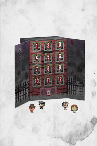 horror themed advent funko calendar