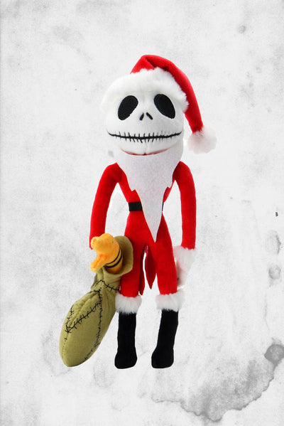 nightmare before christmas jack skeleton plush