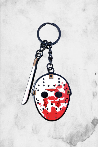 Friday the 13th Jason keychain
