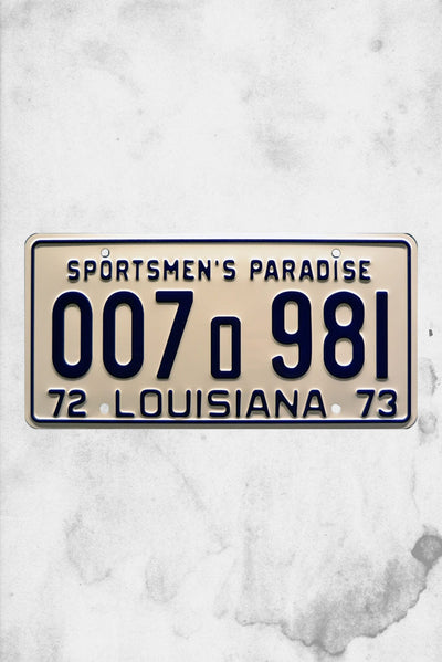 jaws movie replica licenses plate