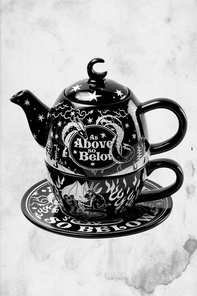 killstar as above so below teapot and cup set
