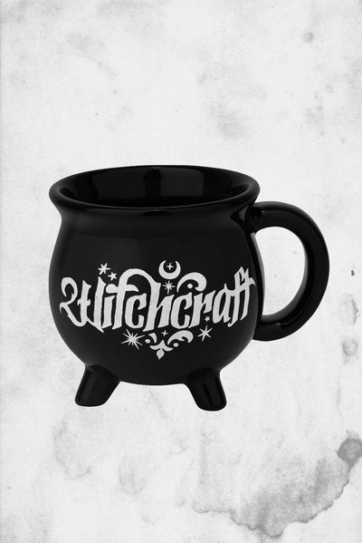 cauldron shaped coffee mug tea withcraft