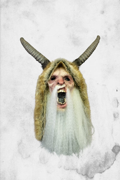 Krampus movie mask creepy christmas