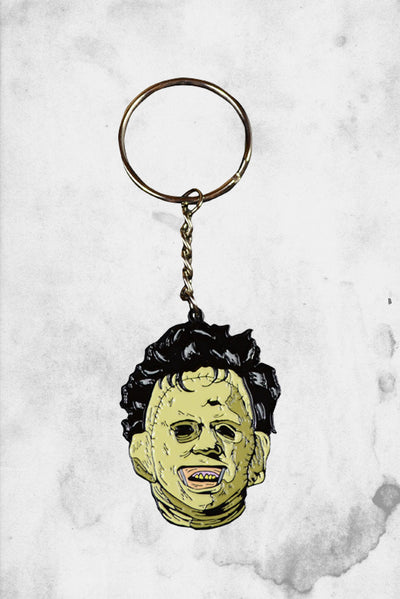 leatherface keychain mask texas chainsaw massacre
