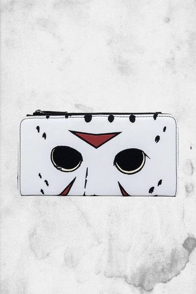 loungefly friday the 13th jason vorhees mask wallet