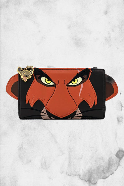 lion king scar loungefly wallet