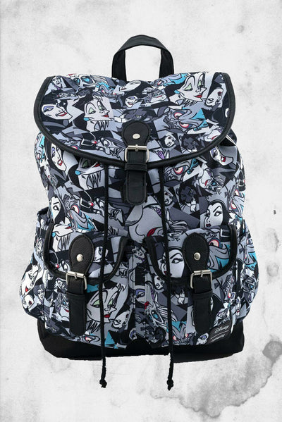 disney villains slouch backpack loungefly