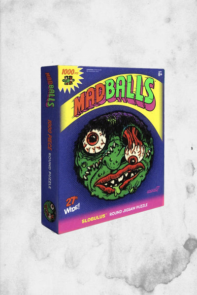 madballs classic halloween horror themed puzzle